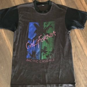 Vintage distressed California tee men's large
